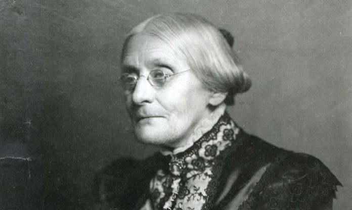 Women's rights activist Susan B. Anthony born on this day 200 years ago
