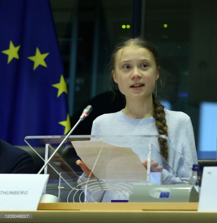 Greta Thunberg dismissed the European commission's new Climate law