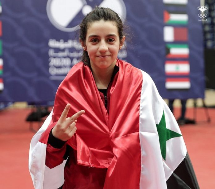 11-year-old Syrian table tennis player qualifies for Olympic