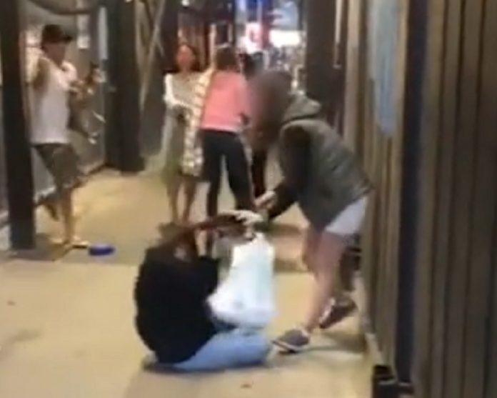 Disturbing Video Reveals Young Girl Being Dragged To The Ground And Beaten