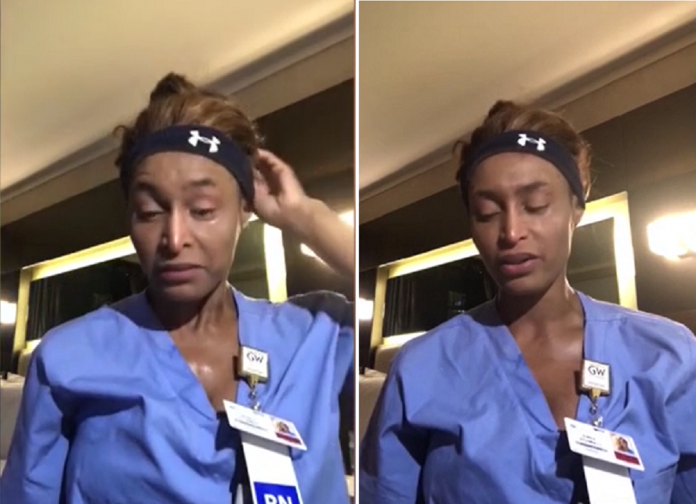Nurse Reveals The Devastating Reality Of The Fight Against COVID-19 In a Viral Video