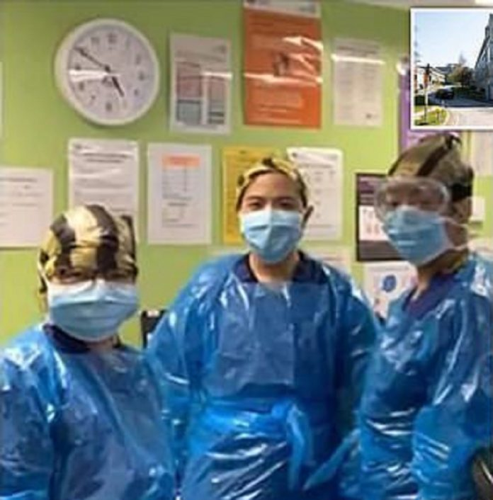 NHS Medics Forced To Make PPE From Plastic Curtains