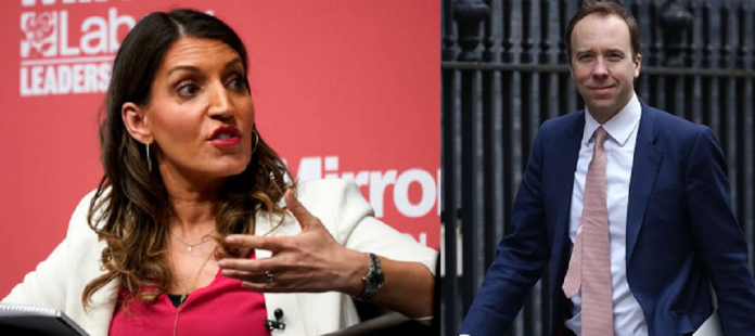 Labour MP Dr. Rosena Allin-Khan Questioned Matt Hancock For Coronavirus Testing Strategies