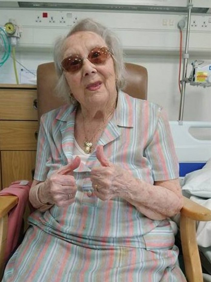 100-Year-Old Great Grandmother Wins Battle Against Coronavirus
