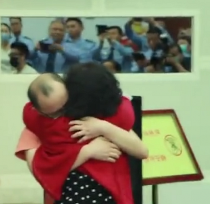 Emotional Moment Mother Reunited With Her Son After 32-Years